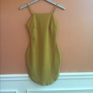 bba97a95de NWT! Curved hem Bodycon Dress